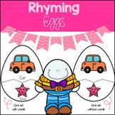 Humpty Dumpty Rhyming Eggs