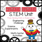 Humpty Dumpty STEM Nursery Rhyme Activities