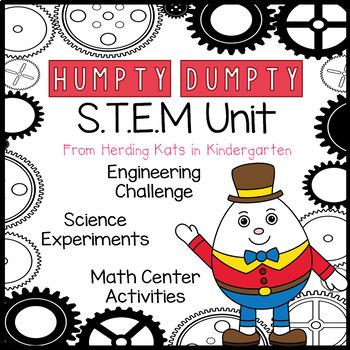 STEM Activities for Humpty Dumpty Nursery Rhyme