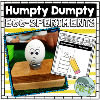 Humpty Dumpty STEM Experiments (2 EGG-speriments)