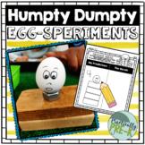 Humpty Dumpty STEM Experiments (2 EGG-speriments)