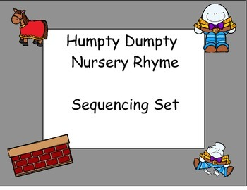 Humpty Dumpty Sequencing Activities