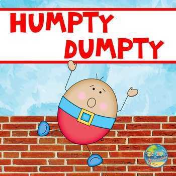 Humpty Dumpty Sequencing Activity