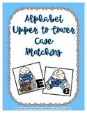 Humpty Dumpty Upper / Lower Case Alphabet Match