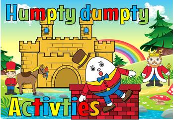 Humpty Dumpty activiities(50% off)