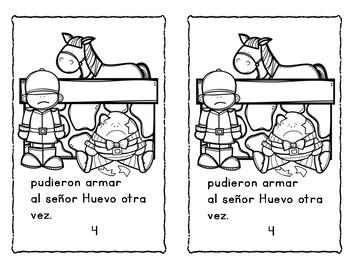 Humpty Dumpty en español