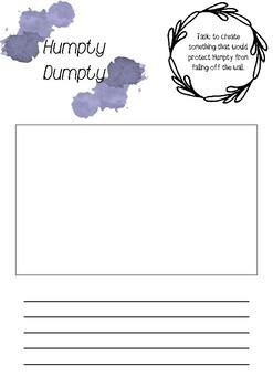 Humpty Dumpty - printable resource