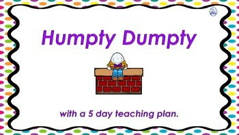 Humpty Dumpty with Teaching Plan