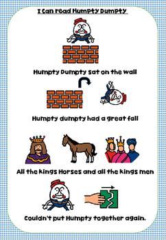 Humpty Dumpty Rhyme