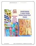 Hundertwasser Art Lessons 3 Lesson Bundle Houses Behave Pr