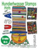 Hundertwasser Stamps: Hats