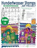 Hundertwasser Stamps: The Yellow House Roll-a-Window