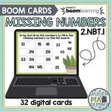 Hundred Board Missing Numbers Digital Task Cards