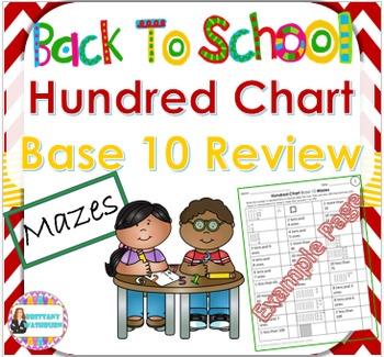 Hundred Chart Base 10 Review Mazes