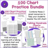 Hundred Chart Bundle - Talking Hundred Chart and Practice Sheets
