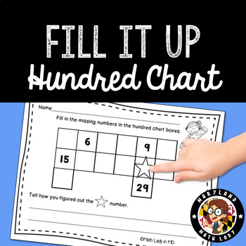Hundred Chart - Fill It Up!