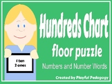 Hundred Chart Floor Puzzle