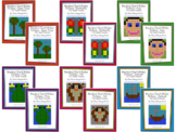 Hundred Chart Hidden Pictures (100 AND 120 Chart Versions)
