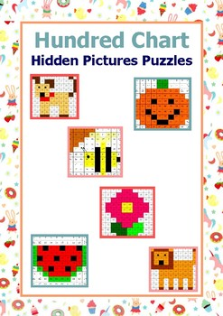 Hundred Chart Hidden Pictures Puzzles