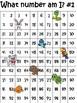 Hundred Chart Missing Number
