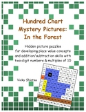 Hundred Chart Mystery Pictures: In the Forest