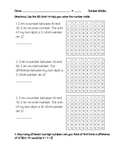 Hundred Chart Number Riddles