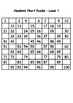 Hundred Chart Puzzle 1-100 and 101 - 200 Level 1 and 2