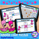 Hundred Chart Puzzles Digital Activity for Google Classroo