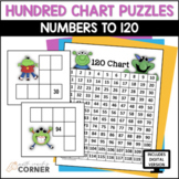 Hundred Chart Puzzles, Numbers to 120: Print and Digital Versions