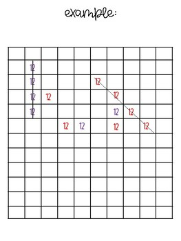 Hundred Chart Tic Tac Toe