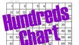 Hundred Chart Who Am I?