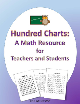 Hundred Charts: A Math Resource for Teachers and Students