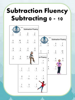 Addition and Subtraction Fluency Bundle Worksheets, Center Activities & Games