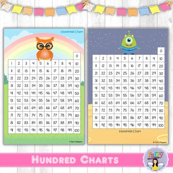 Hundred Charts - 5 fun designs!