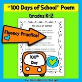 Hundred Days of School Poem