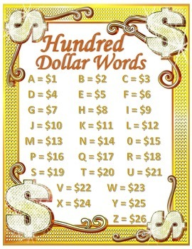 Hundred Dollar Words