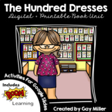 The Hundred Dresses Novel Study: vocabulary, comprehension
