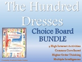 The Hundred Dresses Choice Board BUNDLE 9 Activity Pages R