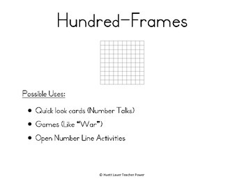 Hundred-Frames 0 through 30