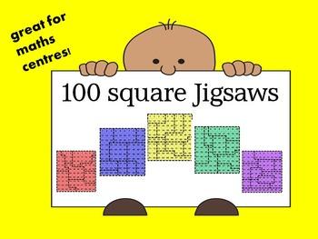 Hundred Square Jigsaws X10
