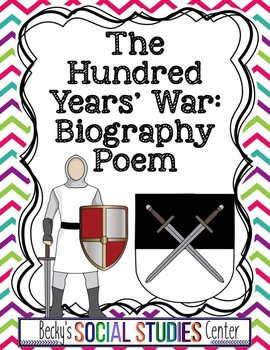 Hundred Years' War Project: A Poem from the French or English Perspective