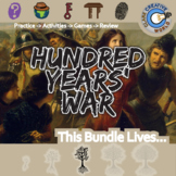 Hundred Years' War -- World History Curriculum Unit Bundle