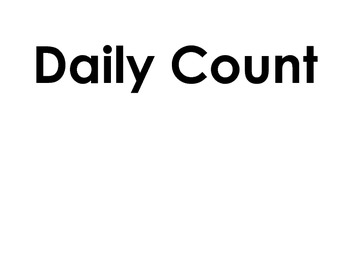 Hundreds Day Count / 100's Day Count - Daily Counter - Place Value