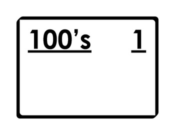 Hundreds Day Count / 100's Day Count - Daily Counter - Pla