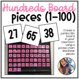 Hundreds Board Pieces (1-100)