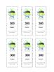 Hundreds Bookmarks (Class Dojo themed)