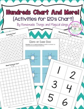 120's Chart and Activities