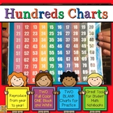 Hundreds Chart 100 Chart