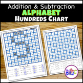 Hundreds Chart Alphabet Letters Mystery Pictures Addition Practice