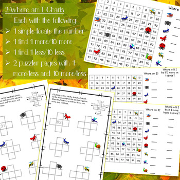 Hundreds Chart Activities 10 More 10 Less